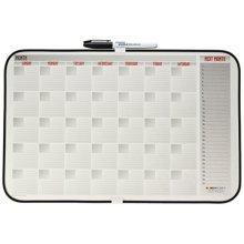Dooley Vinyl Framed Calendar Board, 11 x 17 Inches, 1 Board (1117CALV)
