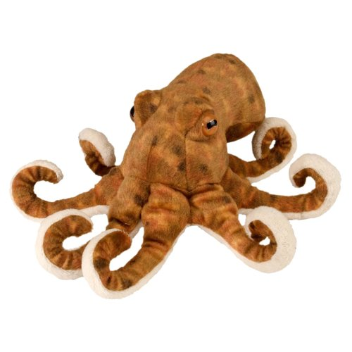 Wild Republic Octopus Plush Soft Toy, Cuddlekins Cuddly Toys, Gifts for Kids 20cm