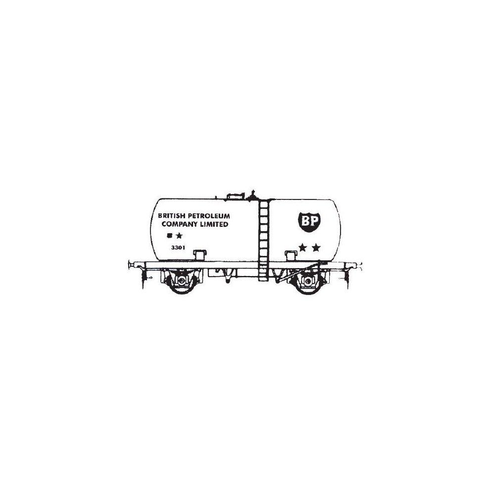 Dapol Kitmaster C034 20 Ton BP Tanker Wagon OO plastic model kit