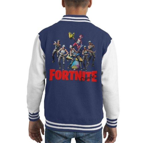 Fortnite Battle Royale Dancing Kid's Varsity Jacket