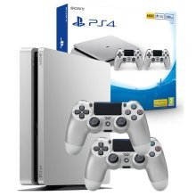 Limited Edition Silver PlayStation PS4 Gaming Console