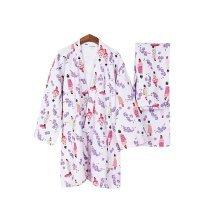 Cotton Pajamas Kimono Pajamas Thicker Women's Pajamas Suit Kimono Pajamas