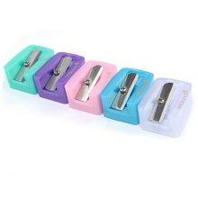 Cosmetic pencils Smart Hand Held Plastic Pencil Sharpener-15PCS-Assorted Color