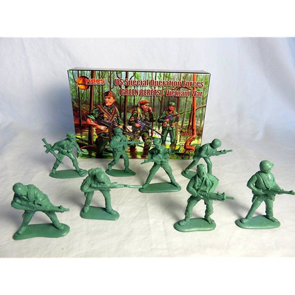 Mars, Vietnam War U S  Green Berets Offered By Classic Toy Soldiers, Inc