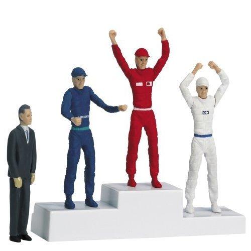 Winner`s rostrum with set of figures - Figures and Buildings - Carrera CA21121