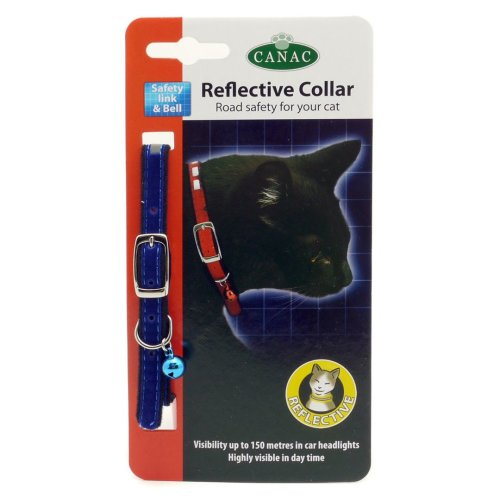 Canac Reflective Cat Collar (Pack of 12)
