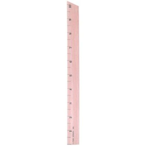 Charles Leonard 2317614 0.5 in. Wood Primary Ruler Increments - Case of 432