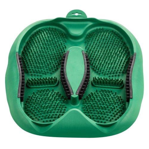 Footwear Cleaning Mat, Green