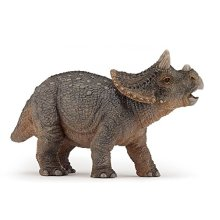 "Papo ""Baby Triceratops"" Figure (Multi-Colour)"