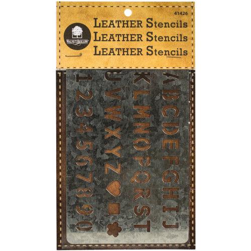 Metal Leather Stencil-