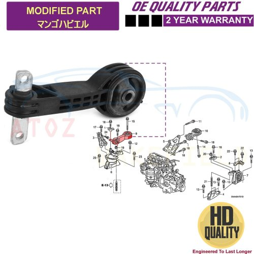 for HONDA CIVIC FD FA 2.0i-VTEC TYPE-R 07-10 FRONT ENGINE MOUNTING MOUNT NEW OEQ