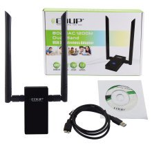 1200Mbps Wireless USB Adapter 802.11ac Dual Band 2.4/5GHz WiFi Dongle