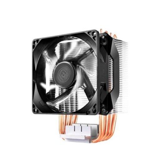Cooler Master Hyper H411r Universal Socket Single White Led Fan Black Fan C RR-H411-20PW-R1