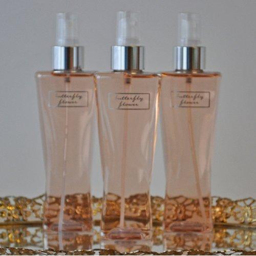 Bath & Body Works Butterfly Flower Fragrance Mist Splash Spray 8oz 3pk Lot