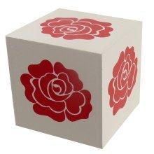 Wooden Block - Flower
