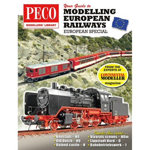 Your Guide to Modelling European Railways - Peco publication PM-205 - F2
