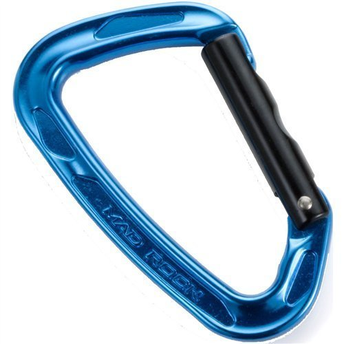 Mad Rock Super Tech Straight Carabiner (Blue)