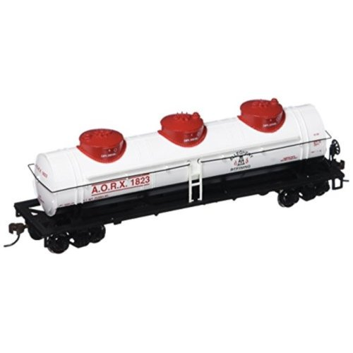 Bachmann Industries Allegheny Refining 40 Three-Dome Tank Car (HO Scale Train)
