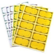 60 Pack Of Preserving Labels