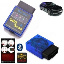 Mini Scan ELM327 Bluetooth V2 OBD2 OBD II Car Auto Torque Scanner tool