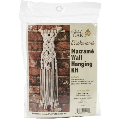 Small Format Macrame Kit-Celtic Braids